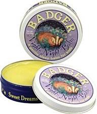 Badger Night Night Balm, .75oz Tin