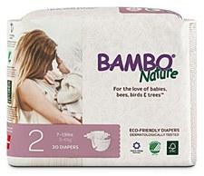 Bambo Diaper Sz2 (8-13lb)WHT
