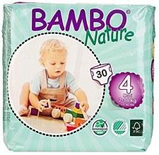 Bambo Diaper Sz4 (18-40lb)GRN