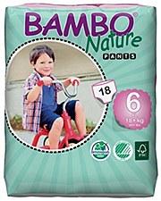 Bambo TPant Sz 6 (40+ lb)GRN