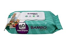 Bambo Wipes GRN 80 ct