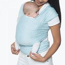 Ergo Aura Wrap Baby Blue Dots