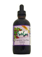 Herblore Pregnancy Tea Plus Tincture, 4oz