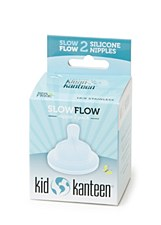 Klean Kanteen Replacement Nipples 2 pack, Slow Flow