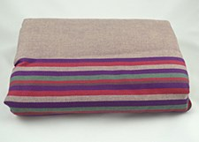 Lenny Lamb Woven Wrap - Cotton - Heather Nights - Large/Size 7