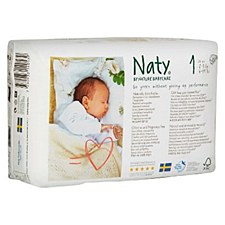 Naty Diapers Sz 1 (5-12 lbs)