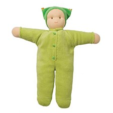 Peppa Organic Cuddle Doll, Green