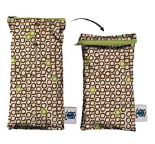 Planet Wise Wipe Pouch Cocoa Bean