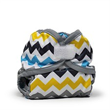 Rumparooz Newborn Cover, Hook & Loop, Charlie
