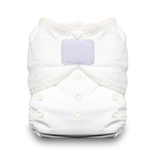 Thirsties Duo Wrap - H&L, Size 1, White
