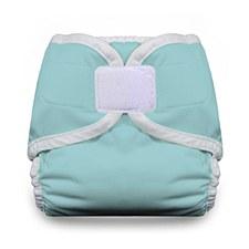 Thirsties Diaper Cover - Hook & Loop Closure, Newborn, Aqua