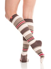 VIM Socks Nylon Brown/Blush XL