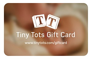 Tiny Tots $25 Gift Card
