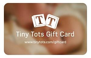 Tiny Tots $300 Gift Card
