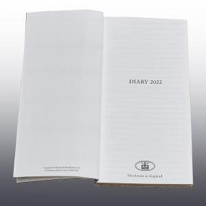 2022 Slimline Diary Block