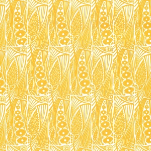 Angie Lewin Meadow Yellow