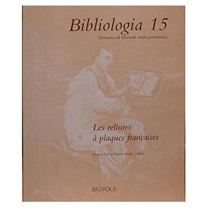 Bibliologia 15 Les Reliures...