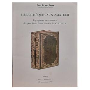 Bibliotheque D'un Amateur 1990