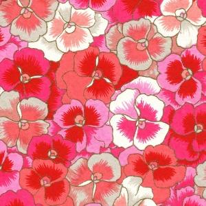 Chiyogami Pink Pansies