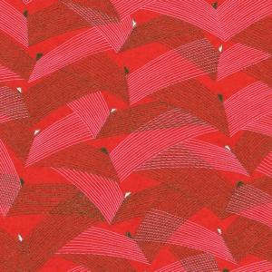 Chiyogami Red Jazz