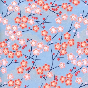 Chiyogami Sky Blooms