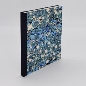 Desk Journal Blank Blue Spot