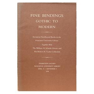 Fine Bindings Gothic to Modern