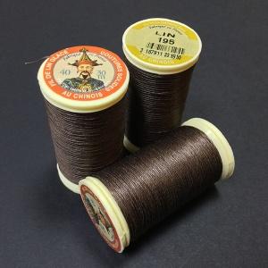 French Linen Dark Brown 195