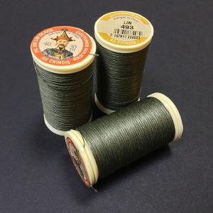 French Linen Dark Khaki 493