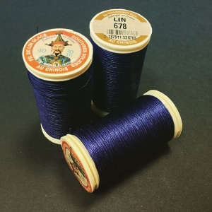 French Linen Royal Blue 678