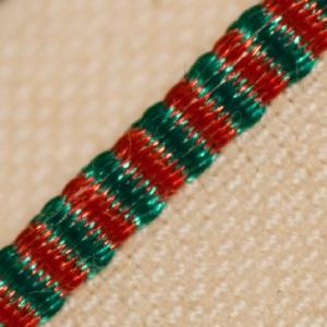 Headband - Green & Red