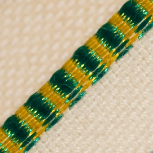 Headband - Green & Yellow