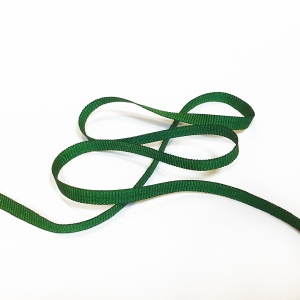 Grosgrain Ribbon 6mm  Green