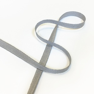 Grosgrain Ribbon 6mm Grey