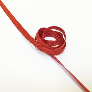 Grosgrain Ribbon 6mm Red