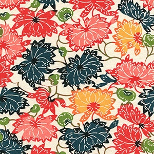 Katazome-Shi Summer Blooms