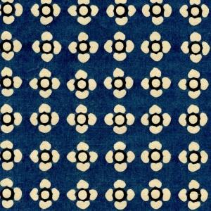 Katazome-Shi Blue Floral