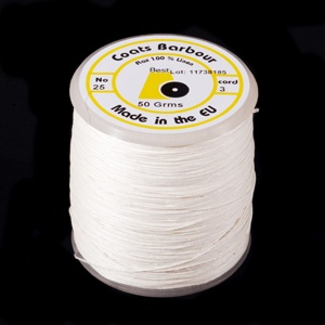 Linen Sewing Thread 25/3 wh
