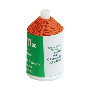 Linen Thread 18/3 Orange 608