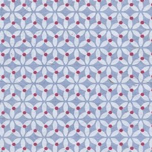 Nepali Paper Star Blossom Blue