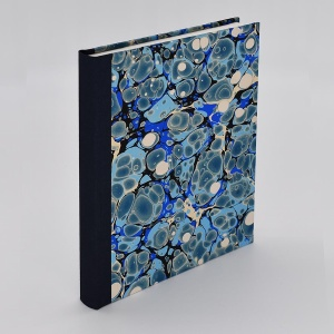 Pocket Journal Blank Blue Spot