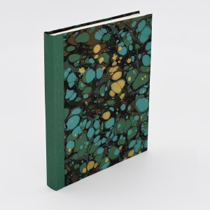 Pocket Journal Blank Malachite