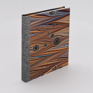 Pocket Journal Blank Tiger
