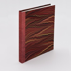 Pocket Journal Blank Red Comb