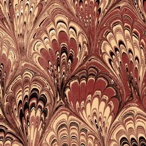 Printed Marbled Papers - No13