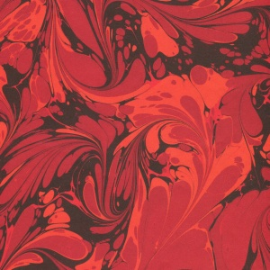 Printed Marbled Papers - No14
