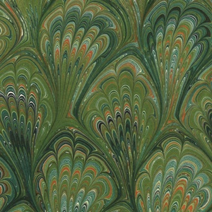 Printed Marbled Papers - No6