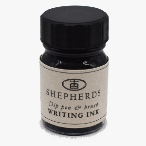 Shepherds writing ink - black