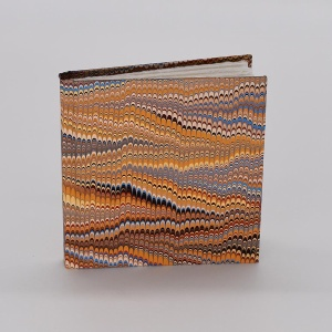 Notebook - Marbled Multi Comb