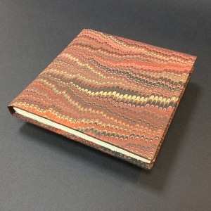 Square Paper Book - Marbled 4